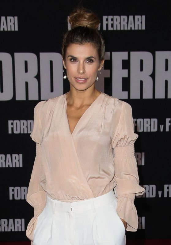 "Elisabetta Canalis – ""Ford v Ferrari"" Premiere in Hollywood"