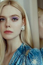 Elle Fanning - Glamour Magazine Spain December 2019 Cover and Photos