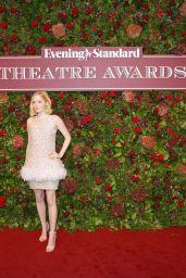 Ellie Bamber - Evening Standard Theatre Awards 2019 in London