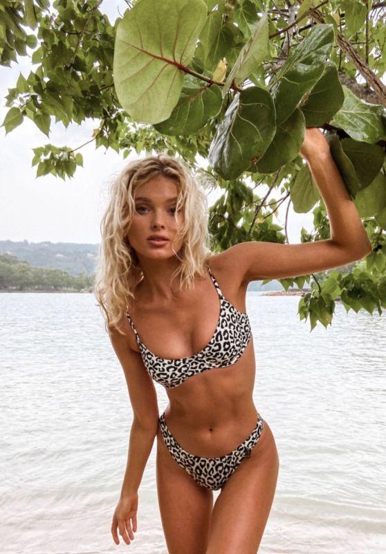 Elsa Hosk in a Bikini - Social Media 11/22/2019