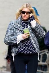 Elsa Hosk Looks Stylish - NYC 11/14/2019