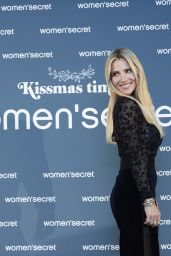 "Elsa Pataky - Presents ""KissMas Time"" by Women Secreat Santa Barbara Palace in Madrid 11/20/2019"
