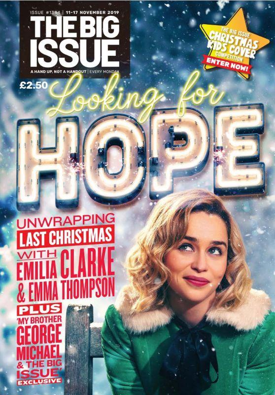 Emilia Clarke - The Big Issue 11-17 November 2019