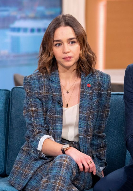 Emilia Clarke - This Morning Show in London 11/11/2019