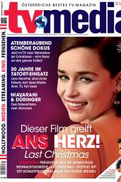 Emilia Clarke - TV-Media 11/13/2019 Issue