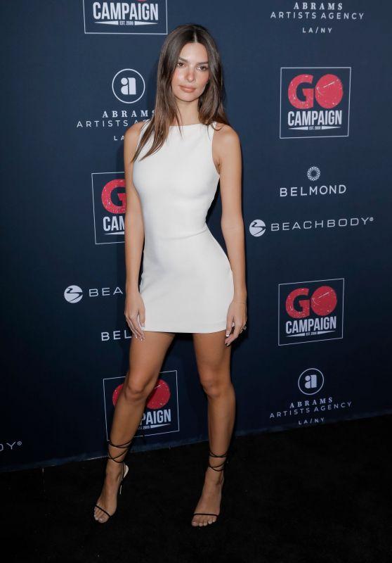 Emily Ratajkowski - GO Campaign
