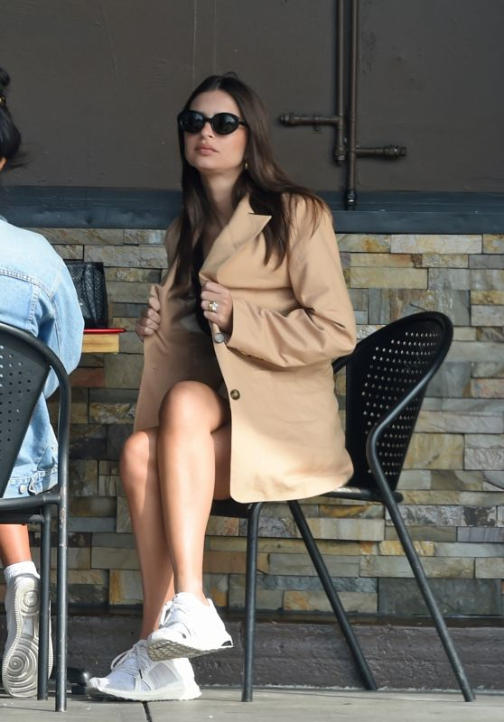 Emily Ratajkowski - Out for Lunch in LA 11/13/2019