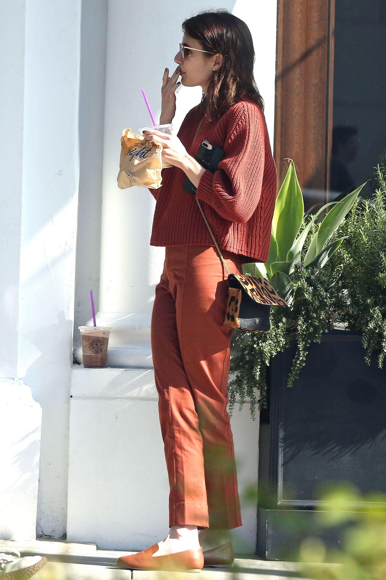 Emma Roberts Ralph Lauren Store In Beverly Hills 11 10 2019 Celebmafia