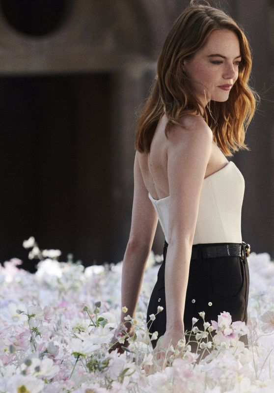 Emma Stone - Cœur Battant Fragrance for Louis Vuitton 2019 Campaign