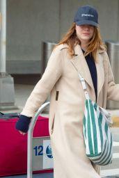 Emma Stone - JFK Airport in New York 11/27/2019