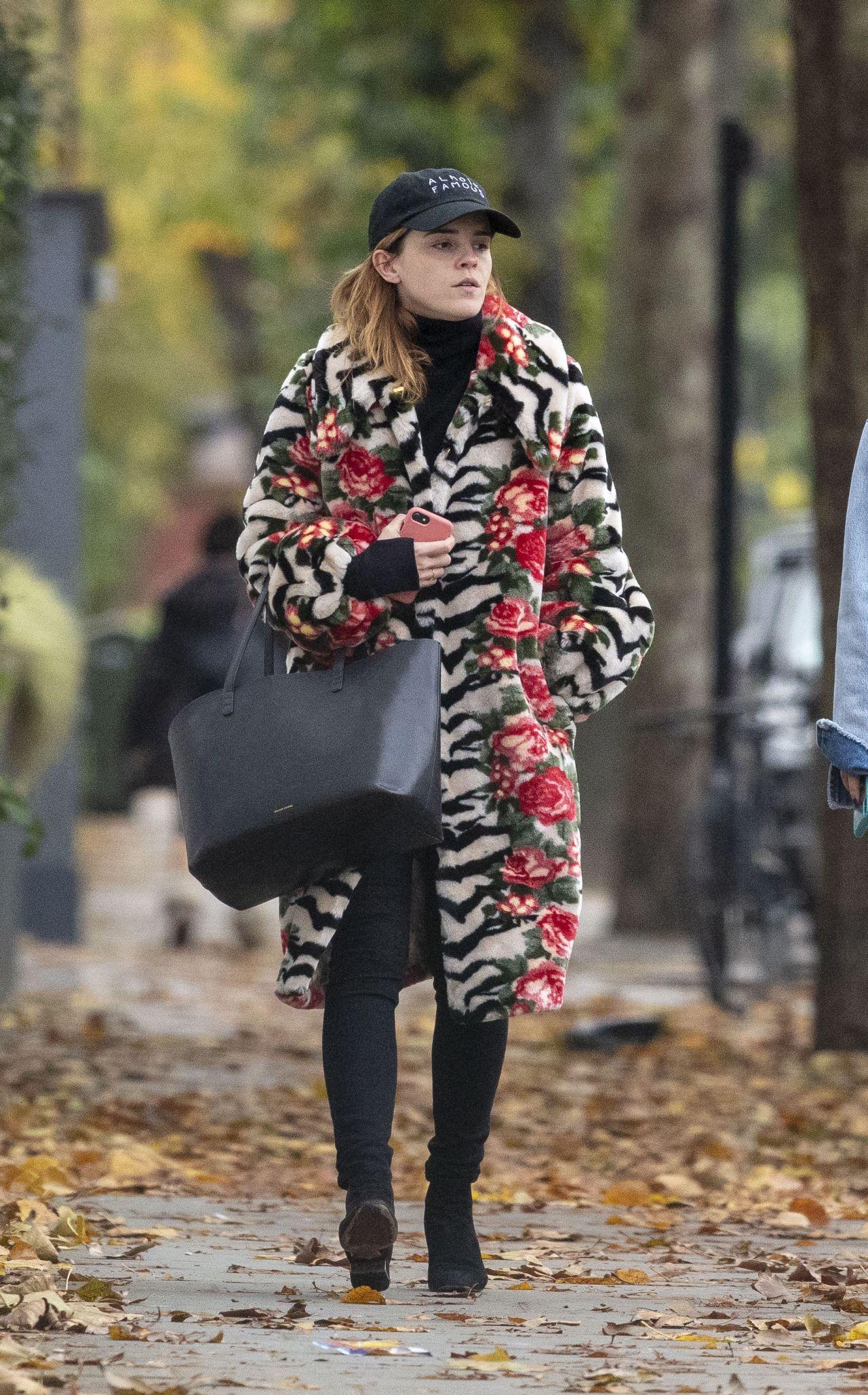 Emma Watson Autumn Style 11 03 2019 Celebmafia