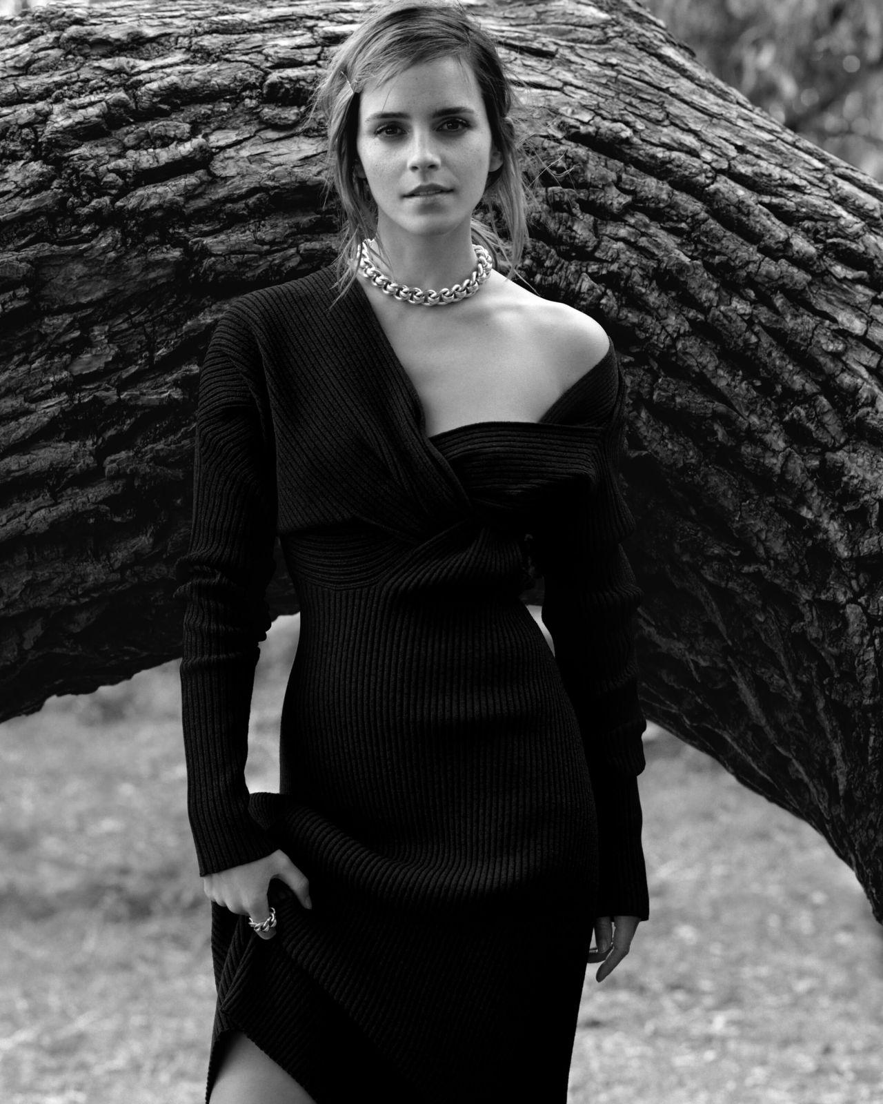 Emma Watson gorgeous in British Vogue magazine December 2019