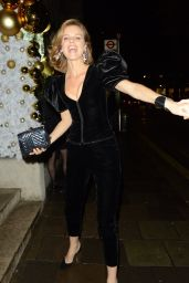 Eva Herzigova - Arrives at the Chopard Event in London 11/27/2019