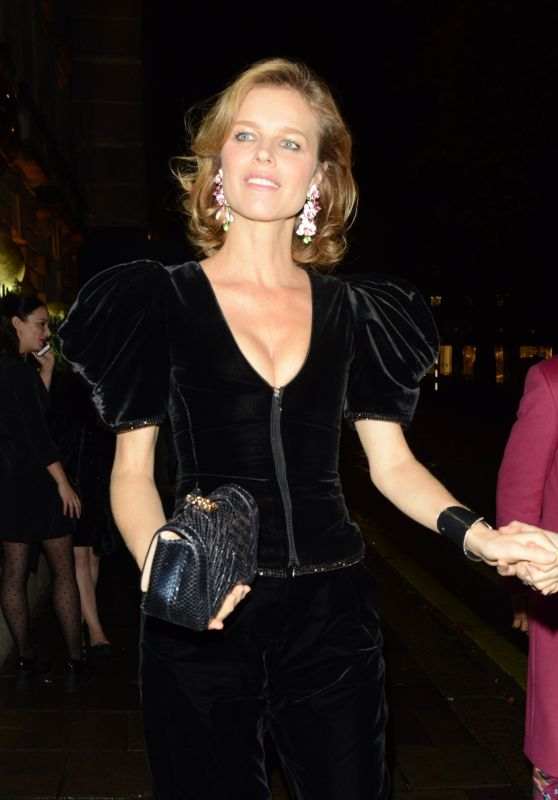 Eva Herzigova - Arrives at the Chopard Event in London 11/27/2019
