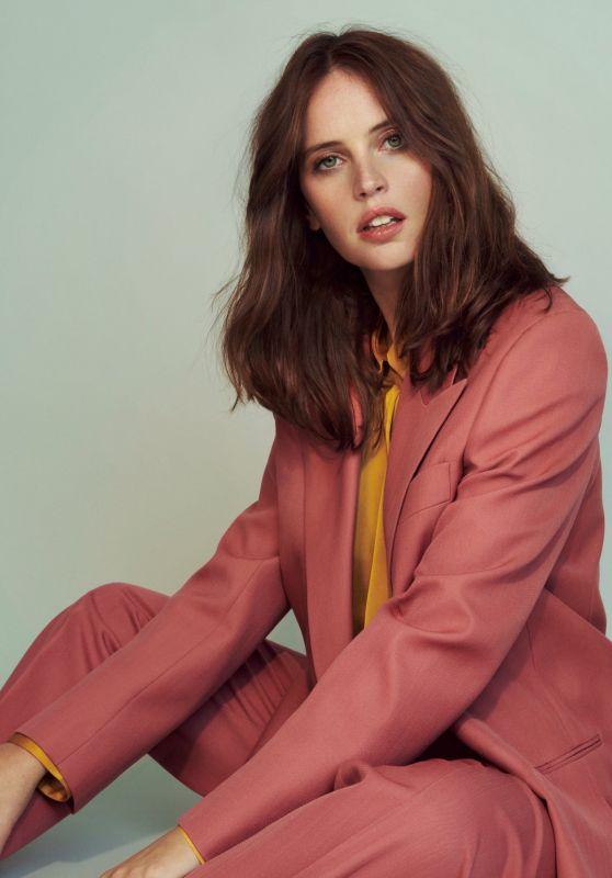 Felicity Jones - Photoshoot for The Observer Magazine November 2019