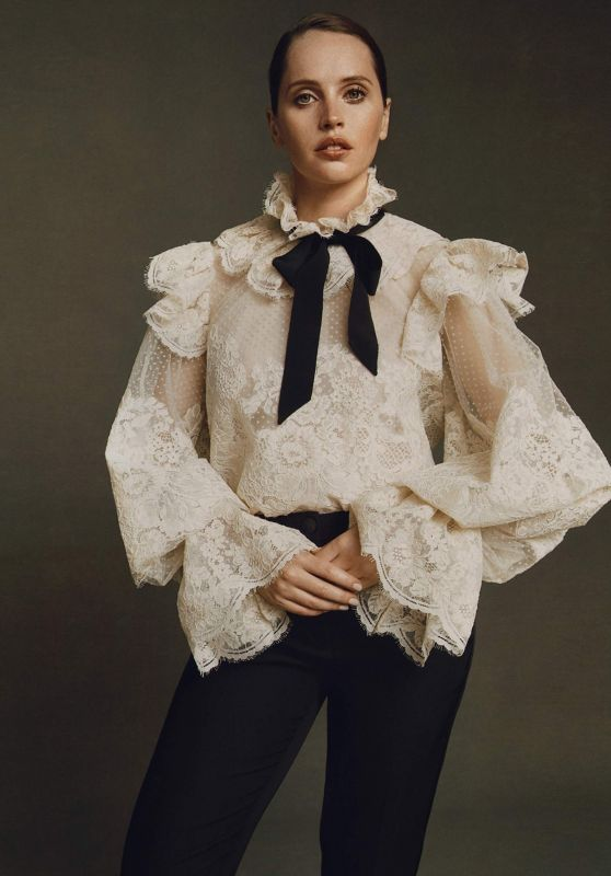 Felicity Jones - The Edit by Net-A-Porter November 2019