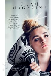 Florence Pugh - Glamour Magazine Spain December 2019 Issue