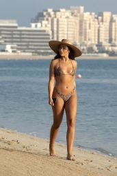 Francesca Allen in a Bikini - Holiday in Dubai 11/26/2019