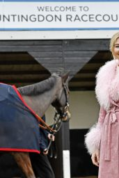 Georgia Toffolo - Winter Ladies Day at Huntingdon Racecourse 11/23/2019