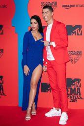 Georgina Rodriguez and Cristiano Ronaldo – 2019 MTV Europe Music Awards