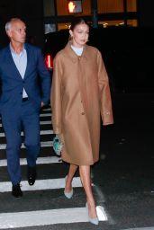 Gigi Hadid - Arrives at the 2019 WSJ Innovators Awards in NYC