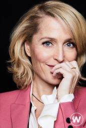 Gillian Anderson - The Wrap, Sex Education Promo November 2019