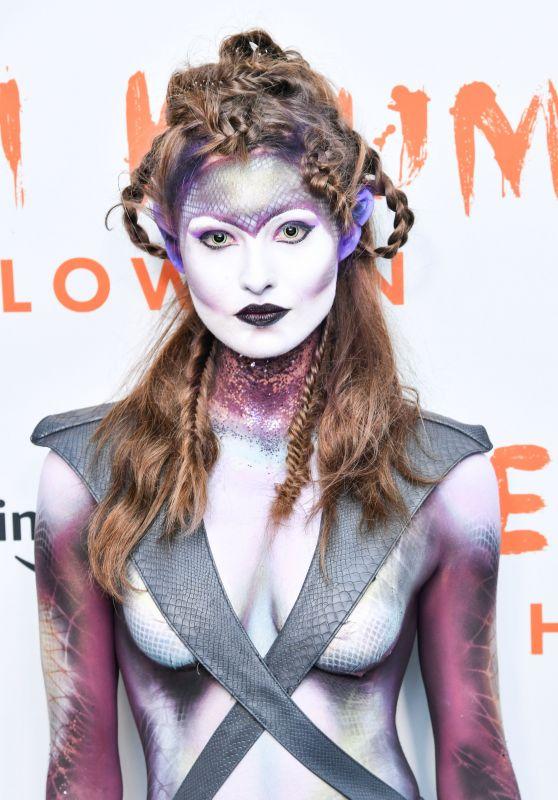 Grace Elizabeth – Heidi Klum's 20th Annual Halloween Party in NY