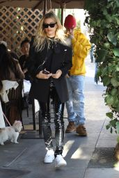 Hailey Rhode Bieber and Justin Bieber - Late Lunch at IL Pastaio in Beverly Hills 11/09/2019