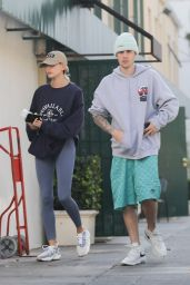 Hailey Rhode Bieber and Justin Bieber - Out for Lunch in West Hollywood 11/12/2019
