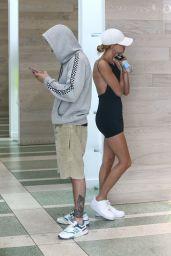 Hailey Rhode Bieber and Justin Bieber – Thanksgiving Weekend Getaway in Miami 11/29/2019