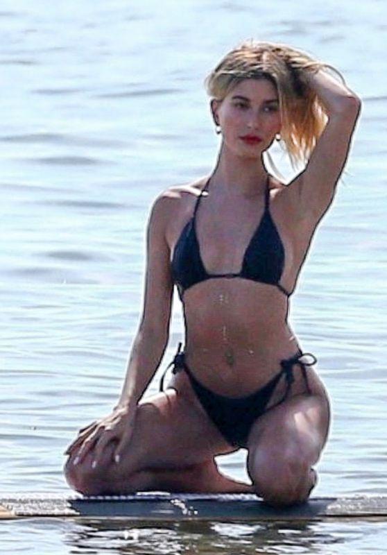 Hailey Rhode Bieber Bikini Photroshoot - Miami 11/27/2019