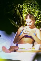 Hailey Rhode Bieber - by the Pool in Miami 11/26/2019