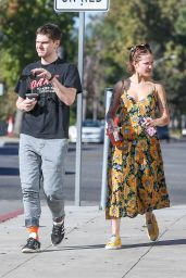 Halsey and Evan Peters - Out in Burbank 11/18/2019