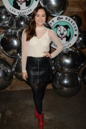 Hayley Orrantia – Love Leo Rescue Cocktails for a Cause in LA