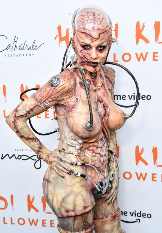 Heidi Klum – Heidi Klum's 20th Annual Halloween Party in NY