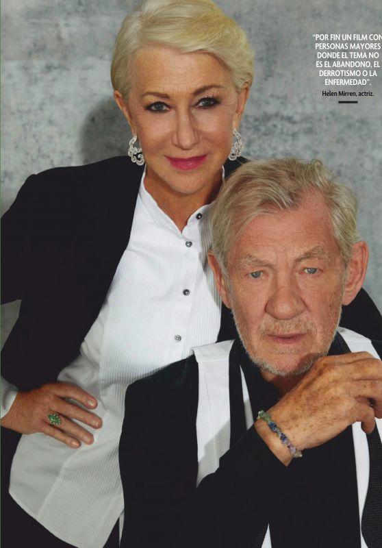 Helen Mirren and Ian McKellen - Fotogramas Spain December 2019 Issue