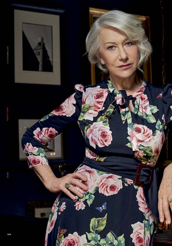 Helen Mirren - Vanity Fair Italy 11/27/2019 Issue