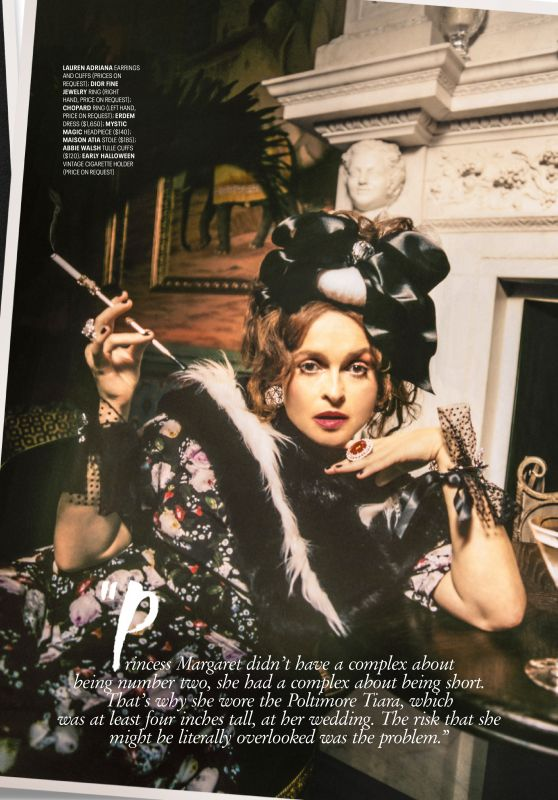 Helena Bonham Carter - Town & Country Magazine December 2019 / January 2020 Issue