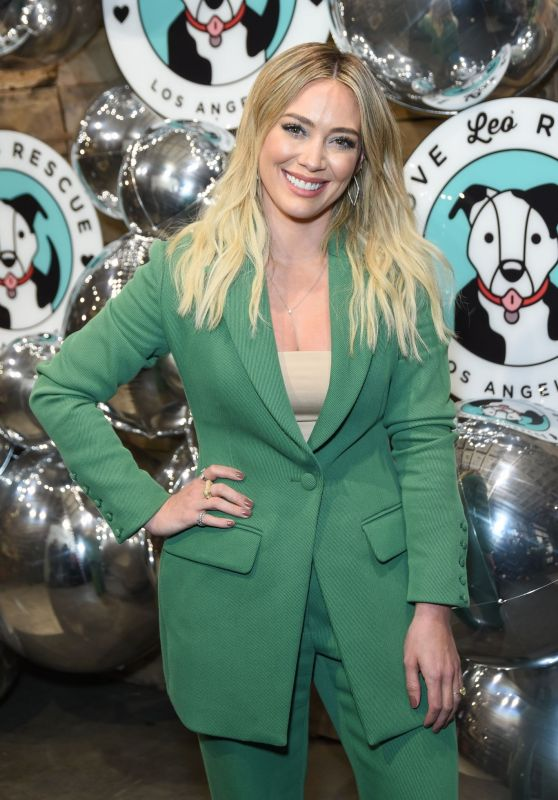 Hilary Duff - Love Leo Rescue Cocktails for a Cause in LA 11/06/2019
