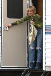 "Hilary Duff - Takes a Break While Filming ""Lizzie McGuire"" in LA 11/19/2019"