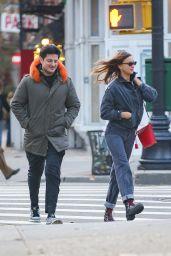 Irina Shayk With An Unknown Male Companion - NYC 11/20/2019