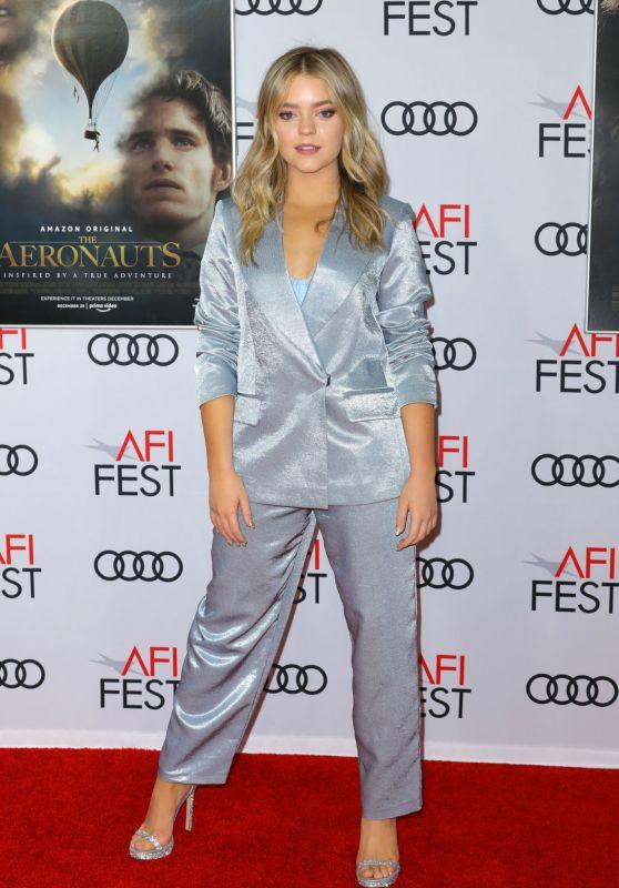 "Jade Pettyjohn – ""The Aeronauts"" Premiere at the AFI Fest 2019"