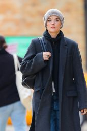 Jaimie Alexander Autumn Street Style - Out in New York 11/19/2019