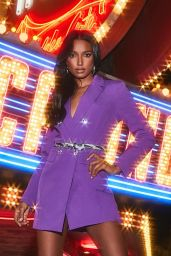 Jasmine Tookes - Boohoo All That Glitters Holiday Campaign 2019