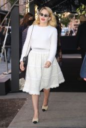 Jemima Kirke is Stylish in White Outfit11/04/2019