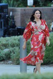 """Jenna Dewan - """"Flirty Dancing"""" Setr in Los Angeles 11/05/2019"""