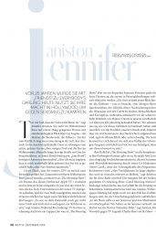 Jennifer Aniston - InStyle Germany December 2019 Issue