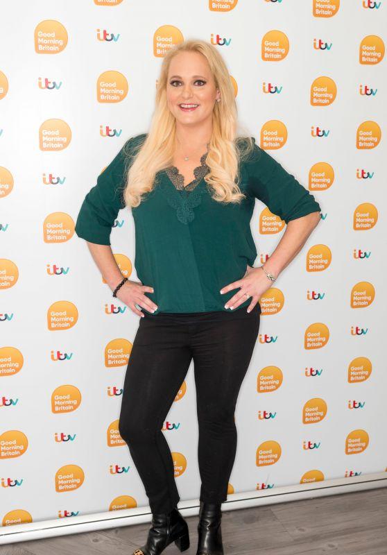 Jennifer Arcuri - Good Morning Britain TV Show 11/18/2019