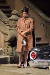 "Jennifer Hudson and Marlon Wayans - Aretha Franklin Biopic ""Respect"" Set in Harlem 11/05/2019"