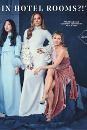 Jennifer Lopez , Scarlett Johansson and Renée Zellweger - The Hollywood Reporter 11/13/2019 Issue